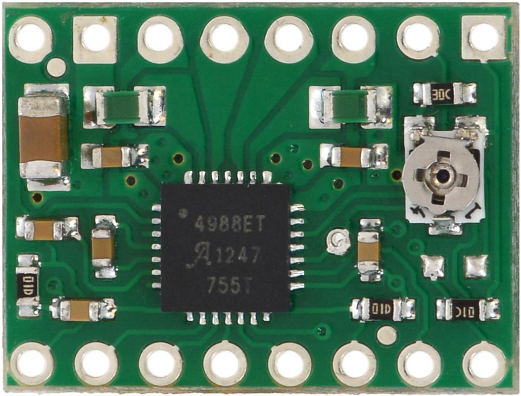 схема драйвера на a4988