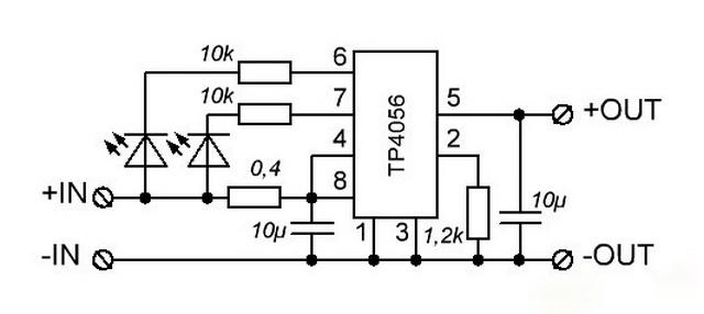 Контроллер заряда 18650 своими руками схема 35